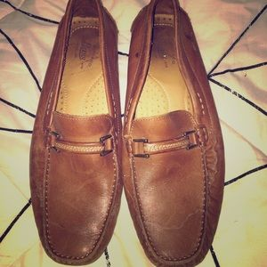 MEN'S BASS LEATHER LOAFERS